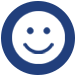 smiley face icon for social interaction for austin ssc social coordinator
